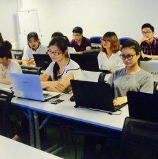 Hình ảnh lớp học QA/Tester theo tiêu chuẩn Nhật Bản