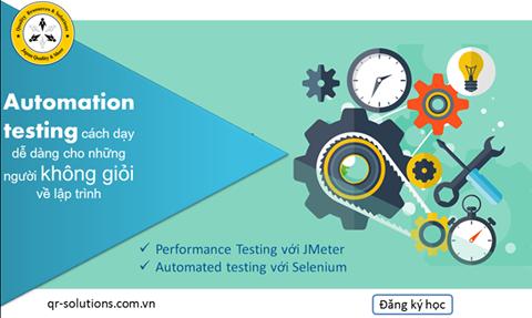 Khóa học Automation testing tool tại QRS